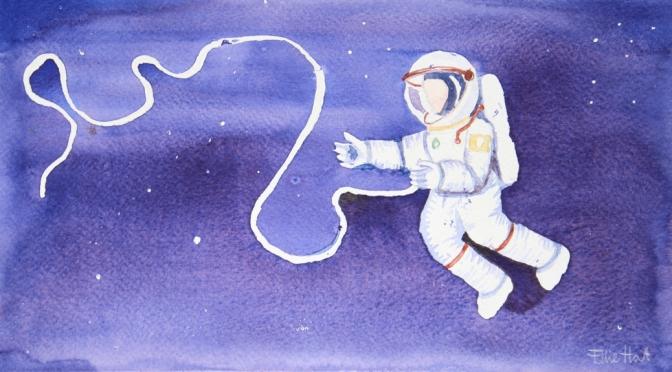 Spacewalking: life in the wilderness.